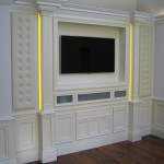 Bespoke media wall unit