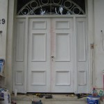 Custom built front door