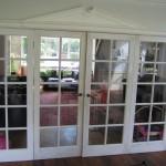Glazed bespoke doors