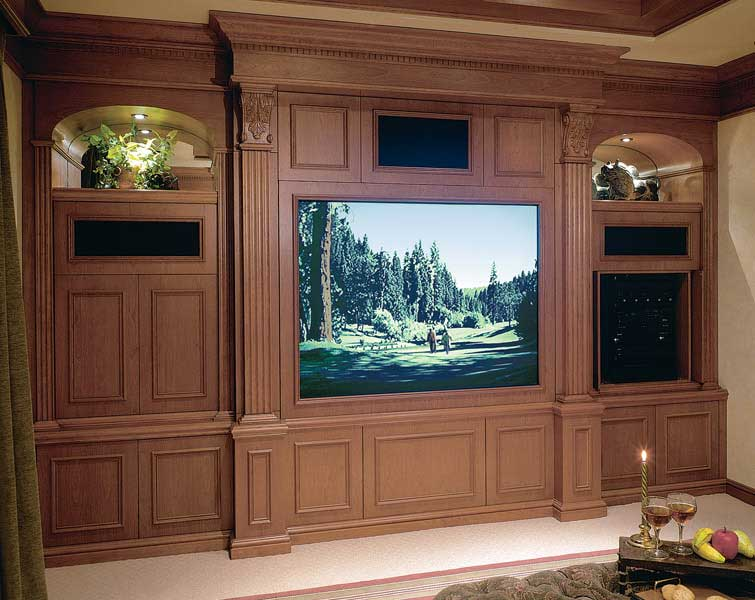 Theater On Pinterest Home Theaters Theater Rooms And Built Ins