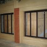 Bespoke mahogany shop front